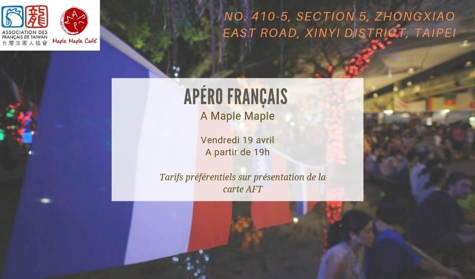 Apéro Français du 19 avril 2019 à Maple Maple