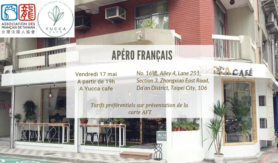 Apéro français du 17 mai 2019 à Yucca Cafe
