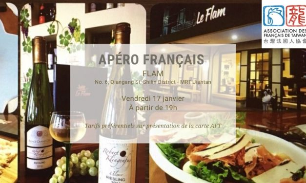 Apéro français au Flam – Vendredi 17 janvier 2020