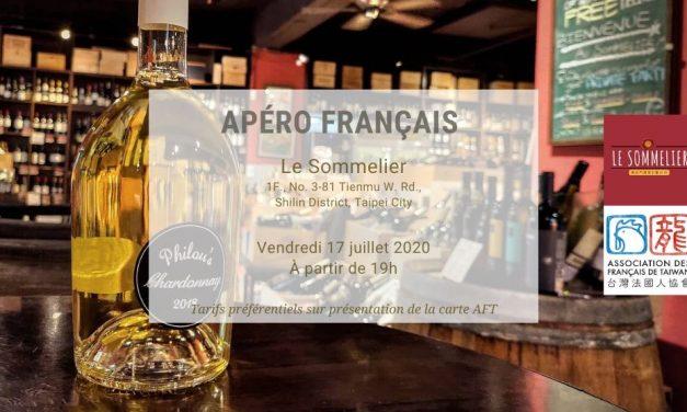 Apéro français au Sommelier – Vendredi 17 juillet 2020
