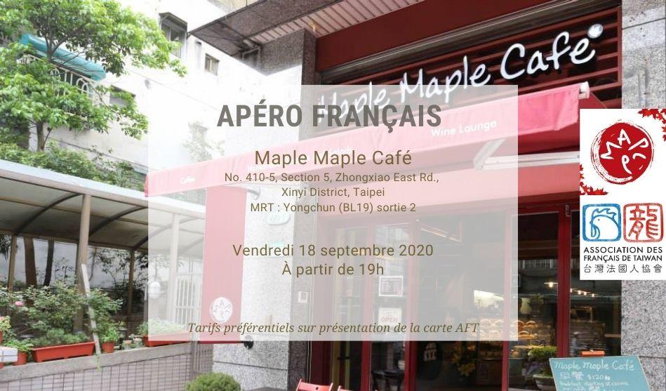 Apéro Français du 18 septembre 2020 à Maple Maple Café