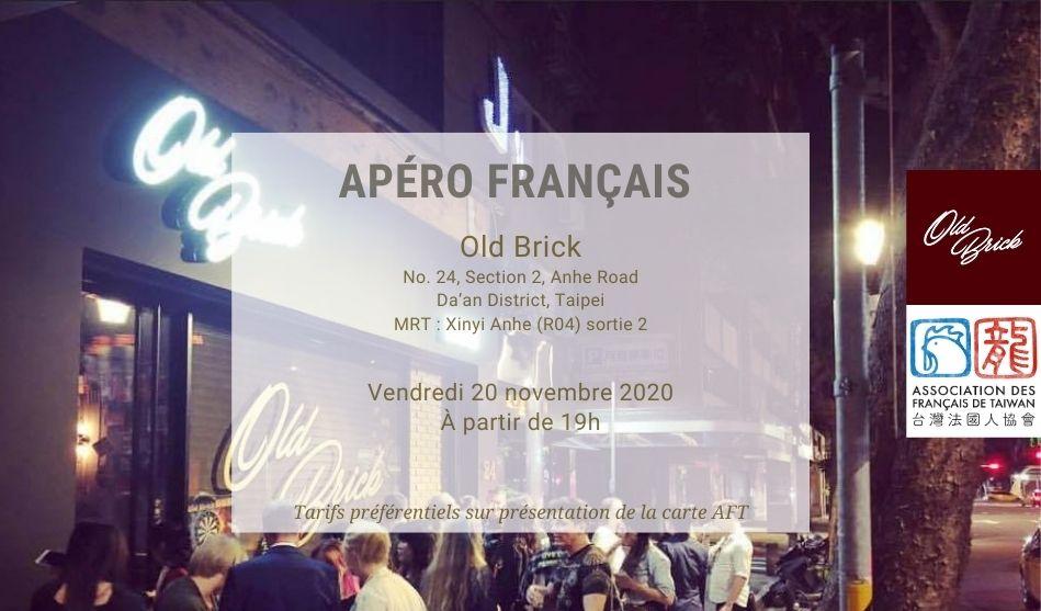 Apéro Français du 20 novembre 2020 à Old Brick