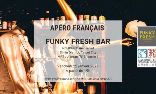 Apéro Français du 22 janvier 2021 au Funky Fresh Bar