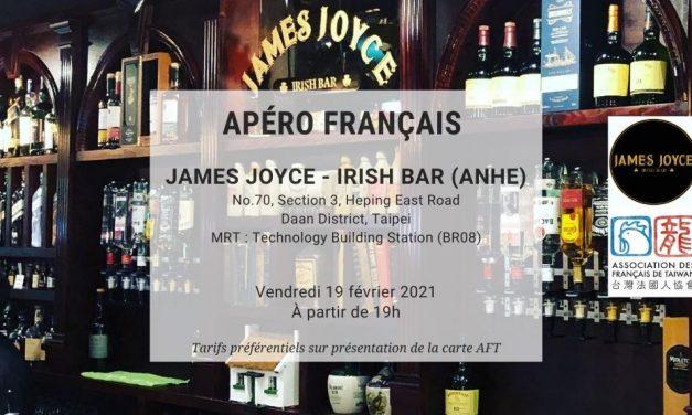 Apéro Français du 19 février 2021 au James Joyce Irish Bar (AnHe)